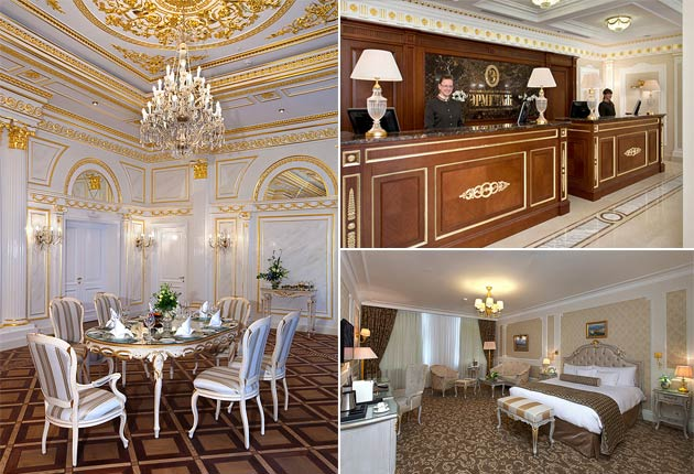 The Official State Hermitage Hotel in Moscow