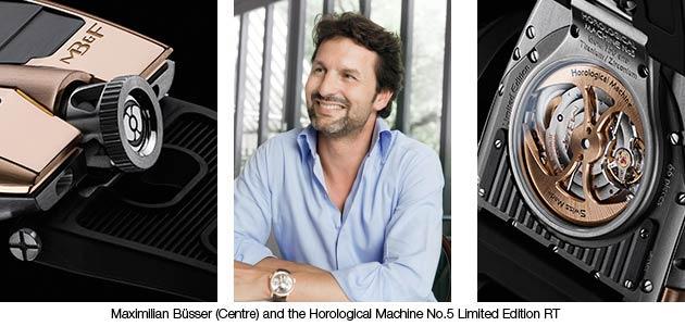 Maximilian Büsser and HM5 RT Limited Edition