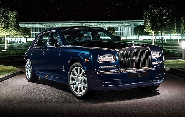 Rolls-Royce Unveil Bespoke Celestial Phantom in Dubai
