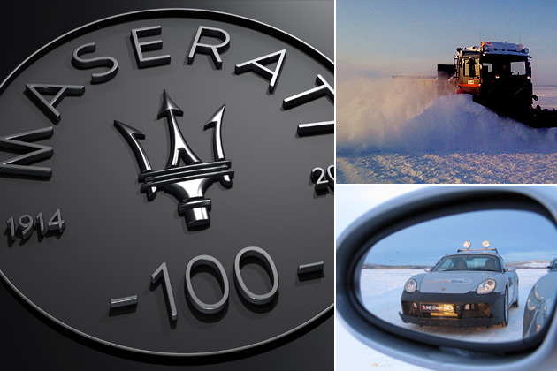 Lapland Ice Driving adds Ice Driving by Maserati