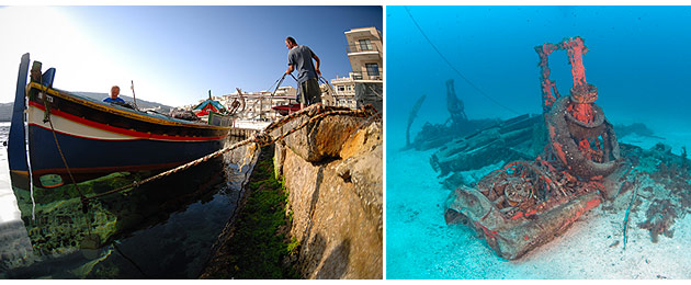 Diving, great food and culture in wonderful Malta