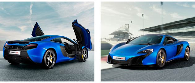 he McLaren 650S - Supercar performance and the ride of an executive saloon