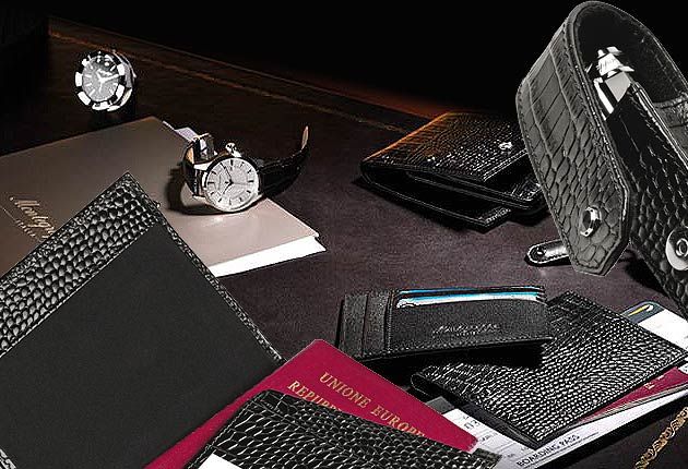 Montegrappa launches a new range of leather goods