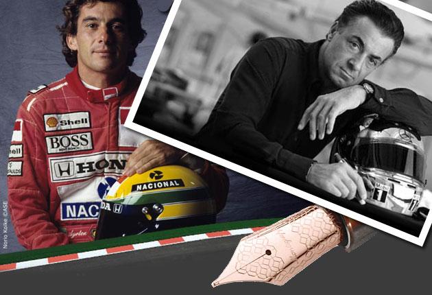 Montegrappa honour the extraordinary legacy of F1 Great Ayrton Senna
