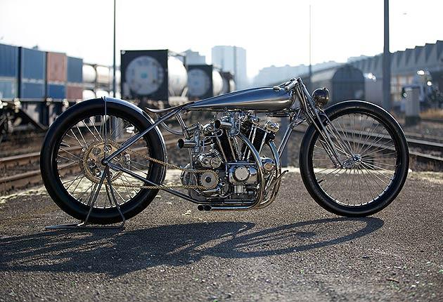 Maxwell Hazan: New York's creator of one-off, custom motorbikes