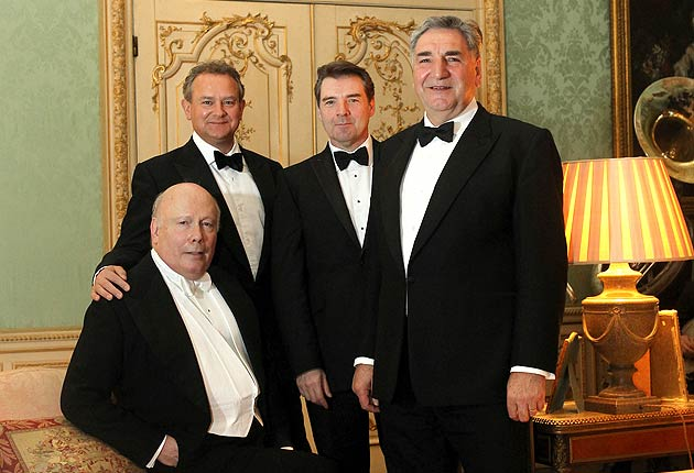 An Evening with Julian Fellowes and some of the cast of Downton Abbey