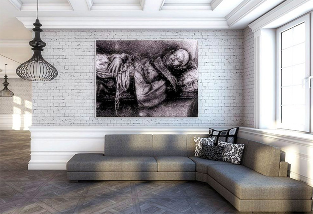 Mosaics Art London and Photographer, Simone Zeffiro Collaborate