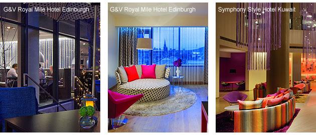 The G&V Royal Mile Hotel Edinburgh and Symphony Style Hotel Kuwait