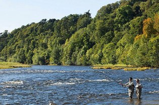 Fly fishing can be arranged for an extra charge for guests of the Roxburghe Hotel and Golf Course