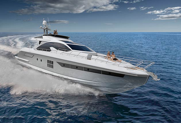 The Azimut 77s is the jewel in the S Collection. It has elegant exterior lines and precious detailing in finishes and furnishings.