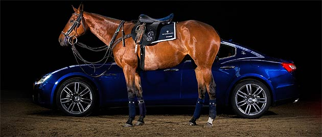 Maserati and leading polo brand La Martina, have collaborated on a one-off, hand-made, luxury polo saddle in celebration of Maserati's Centennial Polo Tour.