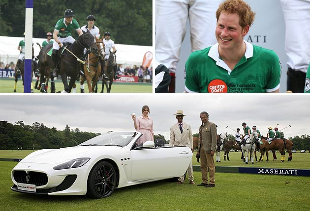 On Sunday 15 June, the British round of Maserati's Centennial Polo Tour was held at Cirencester Park Polo Club with La Martina, HRH Prince William and HRH Prince Harry on opposing teams.