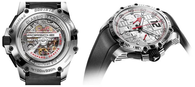 The Superfast Chrono Porsche 919 Edition, a chronograph picking up several aesthetic features of the high-speed car from the German car manufacture, is issued in a 919-piece limited edition.