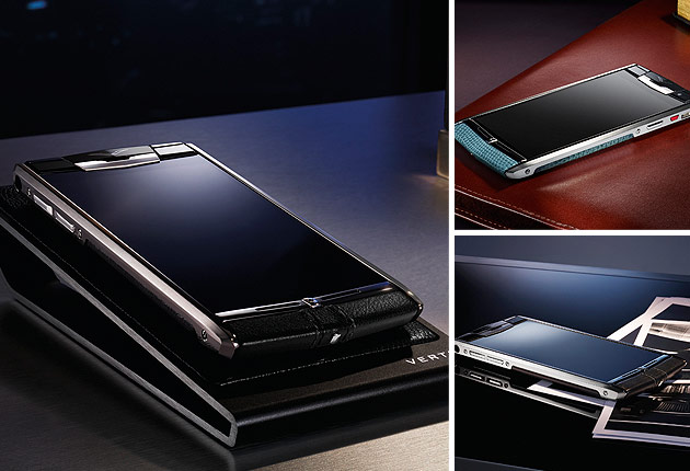 English luxury mobile phone manufacturer, Vertu, launches its new high-performance smartphone model – Signature Touch