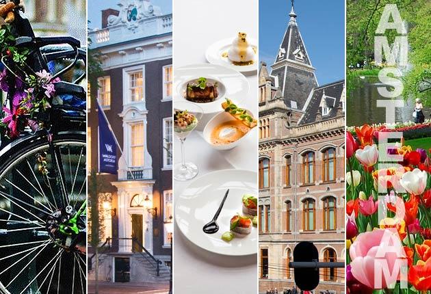 Living The Highlife In Amsterdam