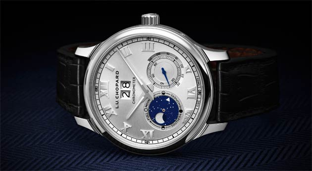 First launched in 2009, the Chopard L.U.C Lunar Big Date now gets a whole new glow by adopting the full design codes of the new L.U.C aesthetic.