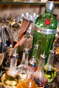 Tanqueray No. TEN is actually made in very small batches (five at a time) and it takes around 10 hours to create a bottle of Tanqueray from start to finish.