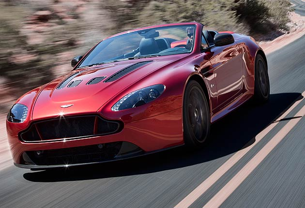 The jaw-droppingly beautiful 2015 V12 Vantage S Roadster from Aston Martin