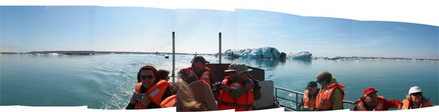 Jokulsarlon Lagoon with Brown + Hudson