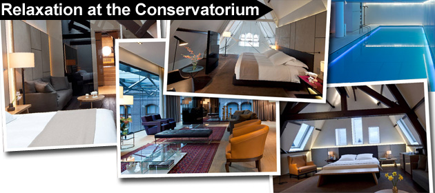 Living The Highlife In Amsterdam Part Two - The Conservatorium 5