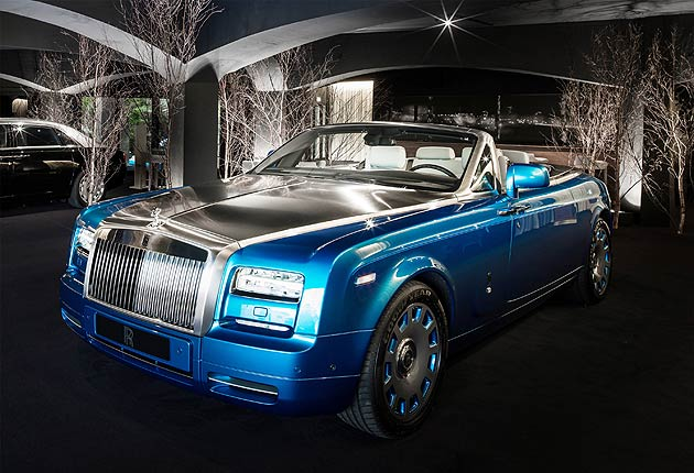 Rolls-Royce Motor Cars opens summer studio in Porto Cervo on the Costa Smeralda in Sardinia, Italy