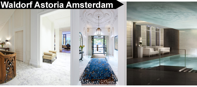 The five-star Waldorf Astoria Amsterdam, which sits on the banks of the Dutch city's grandest canal, the Herengracht, celebrated its official launch in May of this year