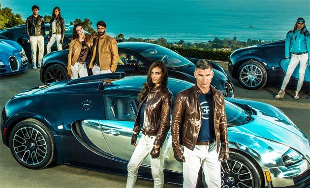 "The new Bugatti fashion and accessories collection dedicated to the ""Les Légendes de Bugatti"""