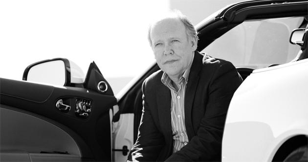 Jaguar director of design, Ian Callum