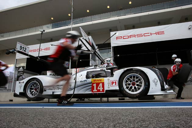 "Chopard ""Official timing partner"" of Porsche Motorsport at the Austin FIA World Endurance Championship"