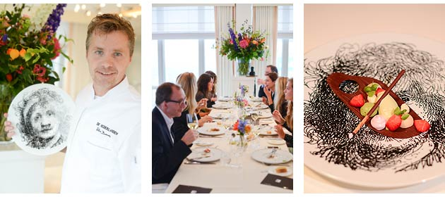 For a limited time you can experience an exclusive five course Michelin Star dining experience amongst Rembrandt pieces with a breath-taking view over Amsterdam