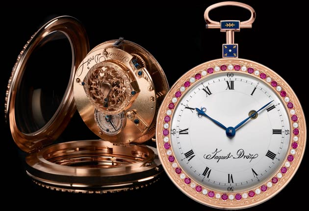 A homage to history and the artisans of Jaquet Droz