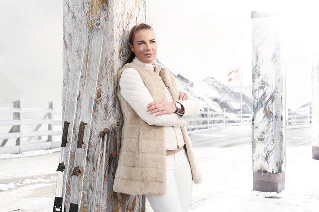 Double Olympic Ski Champion Tina Maze becomes global ambassadress for Alpina Watches