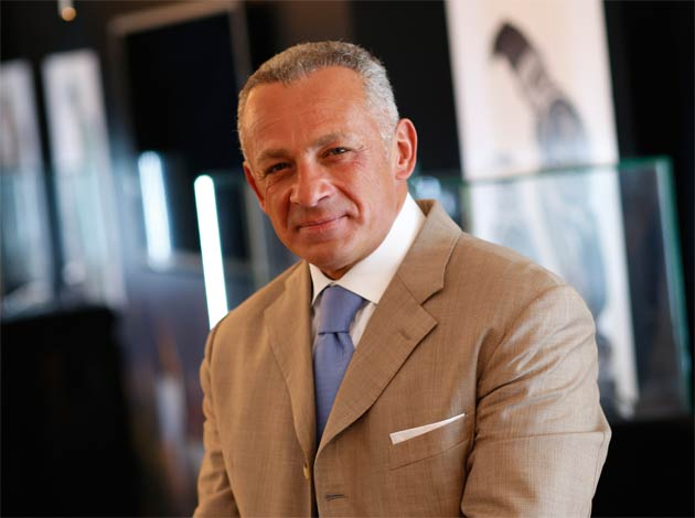 Pascal Raffy, owner of Swiss luxury watchmakers Bovet Fleurier SA