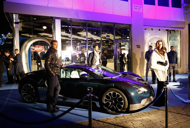 Bugatti opens lifestyle boutique in London's exclusive Knightsbridge