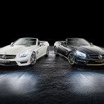 Lewis Hamilton and Nico Rosberg co-create SL 63 AMG Special Editions 5