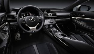 On the inside, the very spacious leather-clad cabin features a driver-focused design which has been split into two different zones: display and operation.