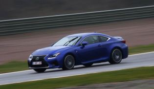 Out on the twisting roads of Andalucia, the ride is extremely smooth, and the RC F is indeed effortless to drive