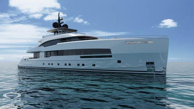 ISA Yachts Introduces Superyacht YARA 44