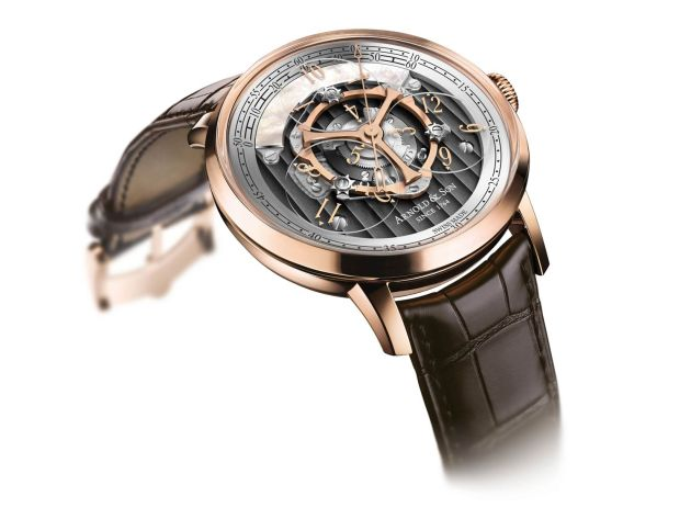 Arnold & Son Unveils the Golden Wheel: World's First Wandering Hours and True Beat Seconds Watch