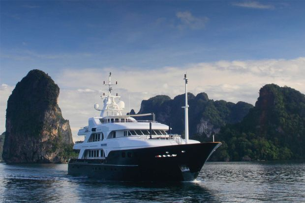 Superyacht M/Y Noble House for Sale with Fraser Yachts