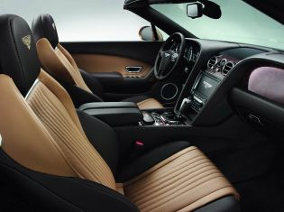 The Interior of the Bentley Continental GT
