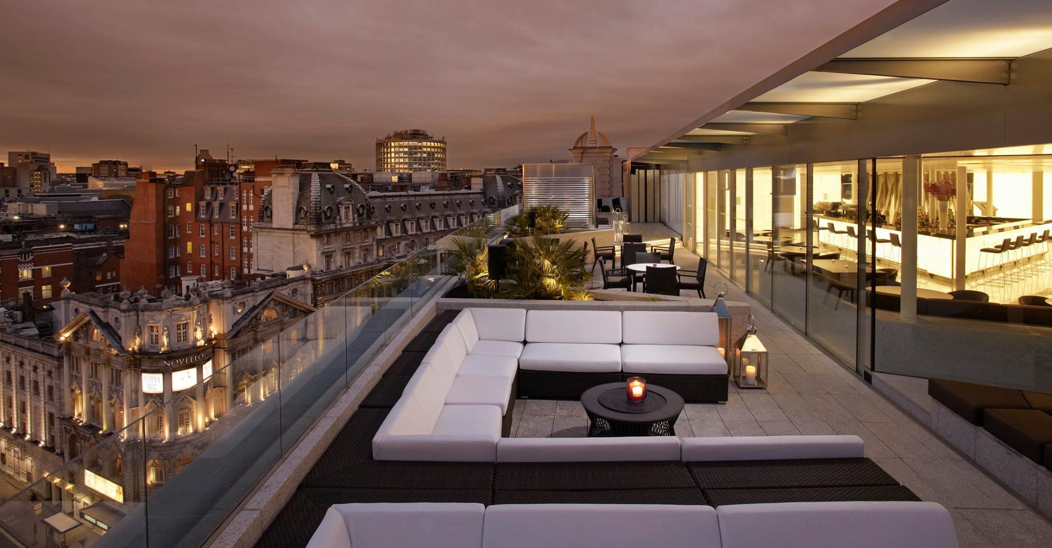 The Radio Rooftop Bar at ME London