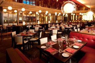 Dining at Marina Bay Sands