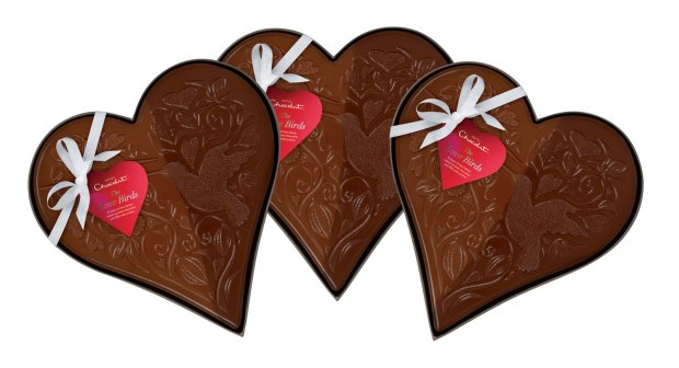 Hotel Chocolat The Love Birds Slab