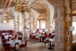 Il Fico D'India restaurant at the Donnafugata Golf Resort & Spa