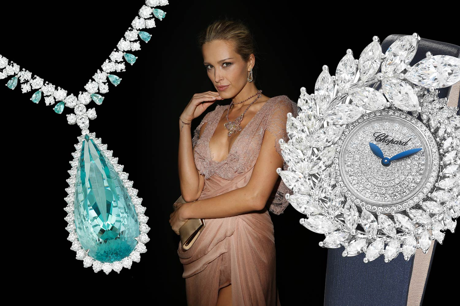 Chopard presents its latest Red Carpet creations at Paris Couture Week, along with a fabulous capsule collection, Fleurs d'Opales