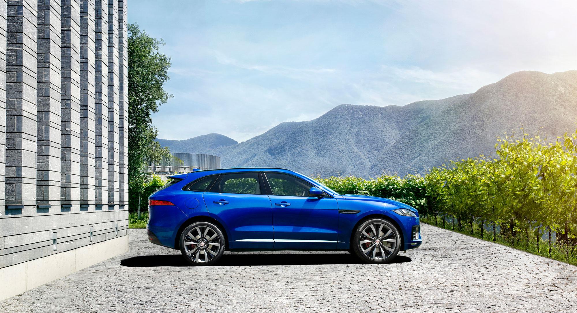 Jaguar's F-Pace SUV
