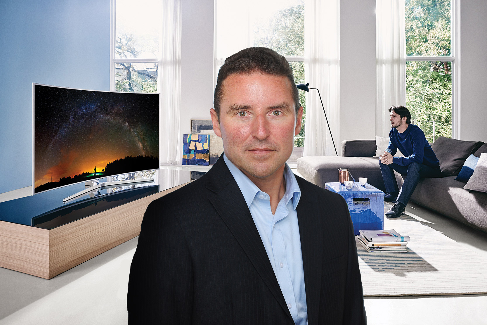 Luxurious Magazine Meets Robert King of Samsung Consumer Electronics