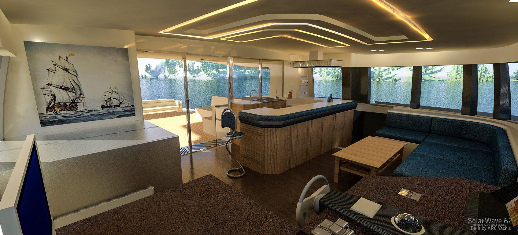 Solarwave 62' interior rendering