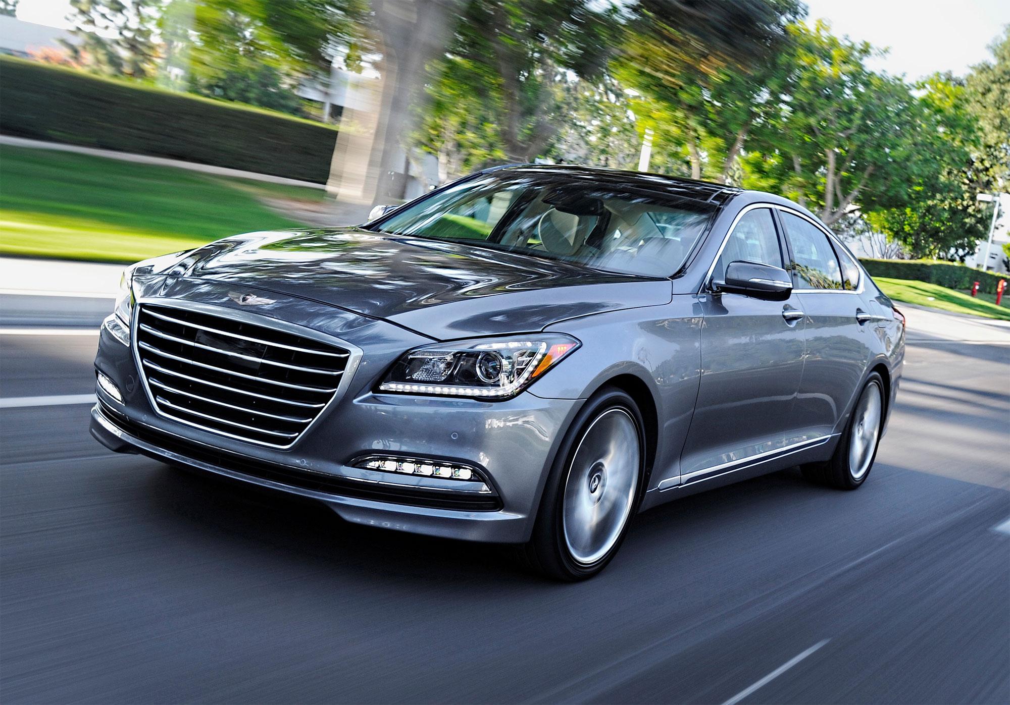 The 2016 Hyundai Genesis